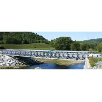 Buy cheap Steel Structure Temporary Bridge Construction / Pre Engineered Pedestrian from wholesalers