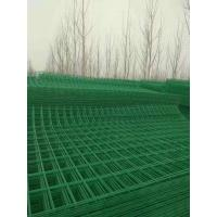 China Grass Green Metal Mesh Fencing Quick Installation For Residential Area / Port wholesale