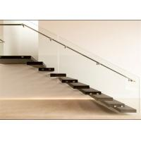 Wood Step Floating Steps Staircase Personalized Style For Public Project