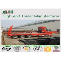 China Heavy Duty Truck Howo 30 ton Low Flatbed Semi Trailer Truck  30T - 60T wholesale