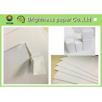 China Customized White Cardboard Paper Sheets , Paper Packaging Board For Medicine wholesale