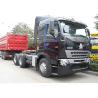 China SINOTRUK HOWO A7 Tractor Head , Heavy Duty 420 HP Prime Mover 6x4 Tractor Head wholesale