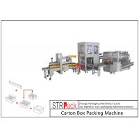 China Automatic Industrial Carton Box Packing Machine Large Capacity For Bottle / Can wholesale
