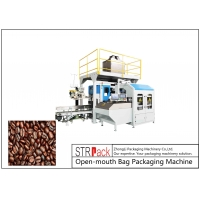 China 5-50kg Coffee Beans Corn Seed Soybean Seed Rice Packaging Machine PE Open-Mouth Bagging Machine wholesale