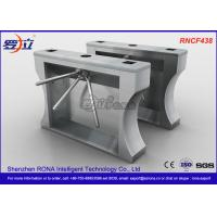 China Automation RFID Stainless Steel Turnstile Access Control For Office Building wholesale