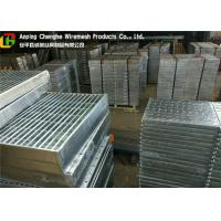 China Custom Vehicuar Galvanised Steel Grating 10 - 300mm Height ISO9001 Certification wholesale