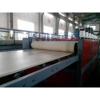 China WPC Foam Board Extrusion Line Plastic Extrusion Lines For PP / PE / PVC on sale