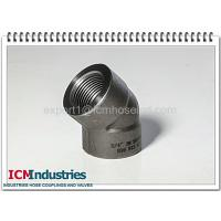 China 3000 lbs carbon steel pipe fittings 45 elbow wholesale