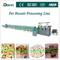 Buy cheap Automatic Pet Food Extruder various mold shape stainless steel biscuit production line from wholesalers