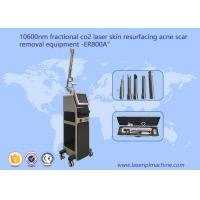 China 10600nm Cool Beam Fractional Co2 Laser Machine For Acne Scar Stretch Mark Removal wholesale