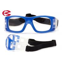 China Adult Indoor Sports Basketball Training Glasses With Adjustable Elastic Strap wholesale