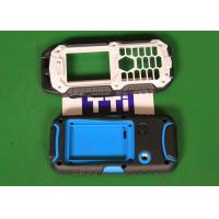 China Hot runner 2 cavities Phone Covers Over Molding PC + TPU Material wholesale