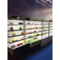 China Supermarket Refrigeration Equipment Multideck Open Chiller Curve Glass wholesale