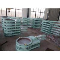 China Electric Pneumatic Slide Gate Dampers For Boilers Flue Air Ducts And Pulverized Coal Pipe on sale