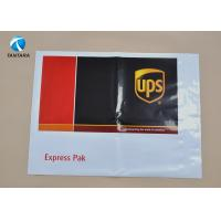 China Heavy Duty DHL EMS UPS Plastic Courier Bags with Custom Logo Printed wholesale