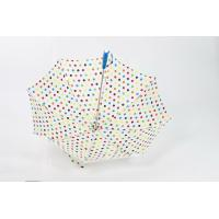 China Gift Colorful Lighted Outdoor Umbrella Straight / LED Tube Hand Open wholesale