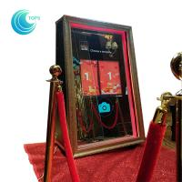 China Cheap magic mirror booth automatic selfie mirror photo booth for sale wholesale