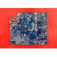 China 4 Layer Soldering Flash Gold Bare Rigid PCB Manufacturer White Lengend wholesale