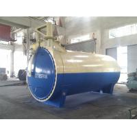 China Single Door Glass Laminating Glass Autoclave With U Type Forced Convection Structure And Inconel Tubular Heaters wholesale