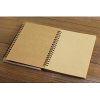 China A4 cheap yellow exercise book paper spiral notebook for school and office wholesale