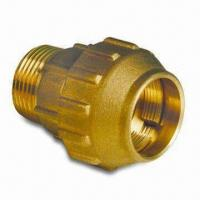 Buy cheap PE Pipe Fitting, Made of Brass, Customized Specifications are Welcome from wholesalers