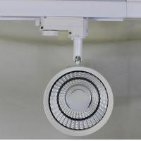 China 20W CREE COB LED Track Light white/black fixture dimmable 3 Phase 4 Wire wholesale