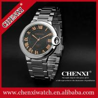 China Rose Gold 038A Hot Sale Men Watch Factory Watches Men Business Watches Men Stainless Steel Watch wholesale