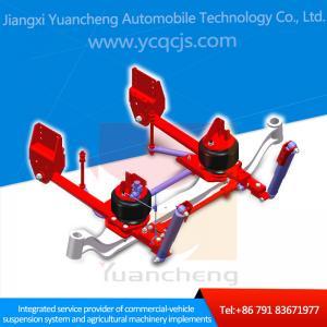 China Customized Design Dump Truck Air Spring Suspension wholesale