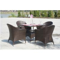 Quality Outdoor furniture wicker dinning table--16041 for sale