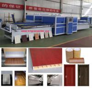 China Wood Mdf Board Making Machine Vacuum Press Laminating Machine wholesale