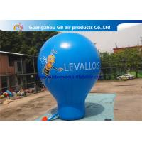 China 6m High Blue Giant Inflatable Advertising Balloon For Music Concerts wholesale