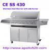 China 6-burner SS BBQ wholesale