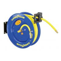 Goodyear 3/8-Inch 500 Feet Steel Hose Reel with Swivel Arm and Mounting Bracket