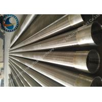 China SS Johnson Wire Screen Tube / Welded Wedge Wire Screen ISO Listed wholesale