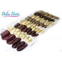 China Full Head Micro Ring Brazilian Human Hair Extensions Body Wave For Ladies / Girls wholesale