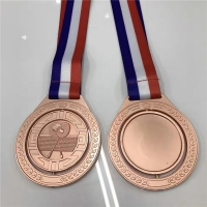 China Sport 1.5mm 3d Marathon Custom Metal Medals wholesale