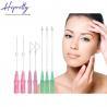 China Skin care medical face lifting pdo thread needle Screw/Single/3D-COG thread wholesale