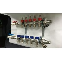 China Stainless Steel Bamboo Joint House Water Manifold With Long Flowmeter-s.s304 wholesale