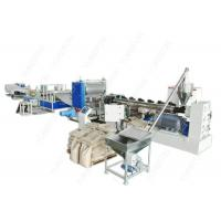 China Full Automatic Plastic Sheet Extrusion Line , Colorful Dimpled Drainage Membrane Extruder wholesale