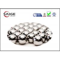 China Silver AISI 52100 Round Steel Balls With Diameter 2.778mm For Ball Bearings wholesale