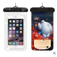 China PVC Waterproof Phone Pouch,Phone Waterproof Bag With A Luminous Function on sale