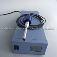 China 30Khz Portable Pressure Ultrasonic Spot Welder With Metal Shell wholesale