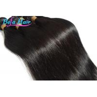 China Grade 7A Unprocessed Straight Indian Virgin Human Hair Extensions 24 Inch wholesale