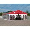China Colorful Waterproof Alumunium PVC Tent  Plain White Sidewalls for  Party wholesale