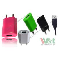 China 2 Pin Plug Portable Mini AC DC USB Charger For Bluetooth Speaker , CB / KC / GS Approved wholesale