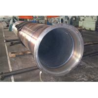 China Thick Wall Horizontal Centrifugal Casting Pipe / High Pressure Boiler Tube  Hardness 240 - 280 HB OD 1000MM wholesale