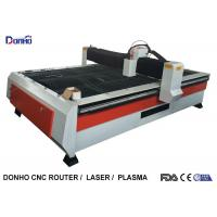 Quality Heavy Duty Structure CNC Plasma Cutting Machine With Chuangwei Stepper Motor for sale