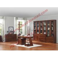 China High Quality Solid Wooden Material Bookcase Set in Study Room wholesale