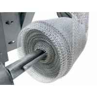 China Exhaust Systems Stainless Steel Knitted Wire Mesh Liquid Gas Filter 0.08-0.55mm Wire wholesale