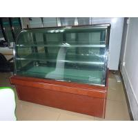 Quality Bakery / Bread Base Marble Cake Display Refrigerator Two Layers for sale